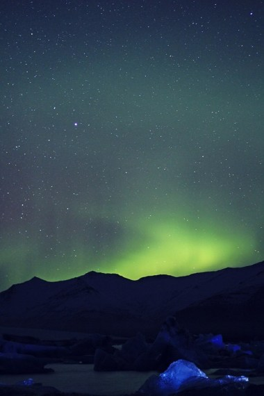My sister's photo of the dancing Aurora